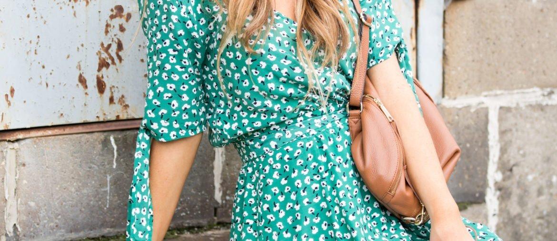 faithful green dress