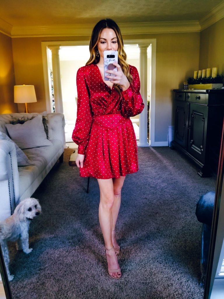 little polka dot dress