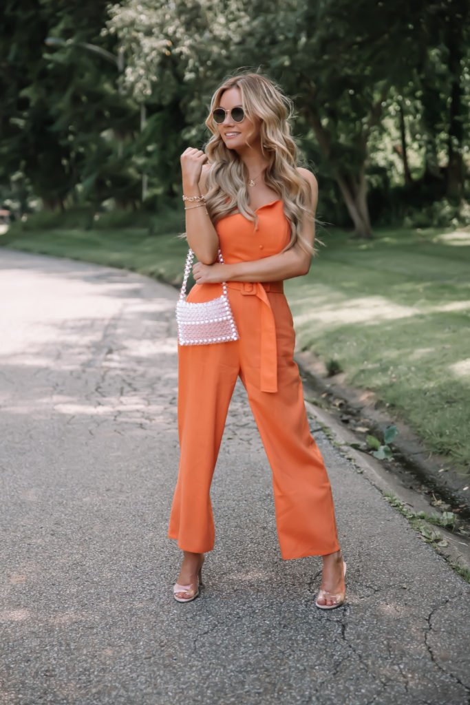 Summer Trend Belted Jumpsuits
