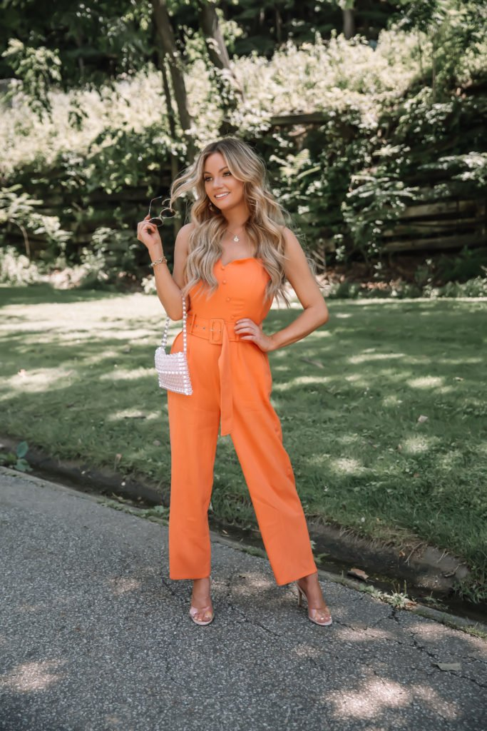Summer Trend Belted Jumpsuits